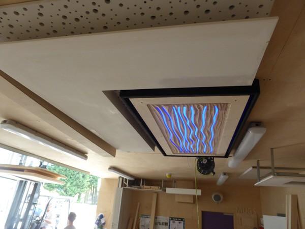 LED Ceiling Detail