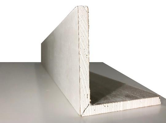 Folded Plasterboard