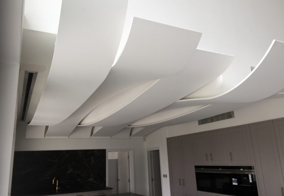 Curved Ceiling Detail