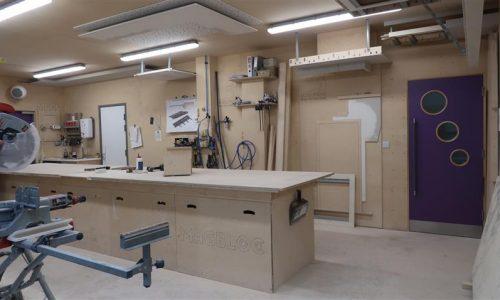 Innovation Centre Workshop area