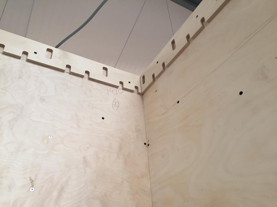 Grid Set Eye Shape Ceiling Detail Media 1